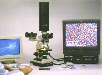 microscope - 9000X for live blood analysis